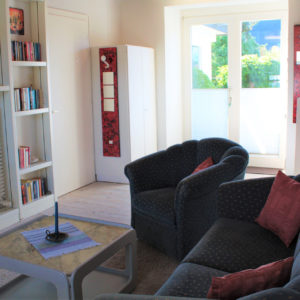 Altes Atelier Wohnraum