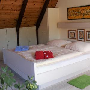 Altes Atelier Schlafzimmer